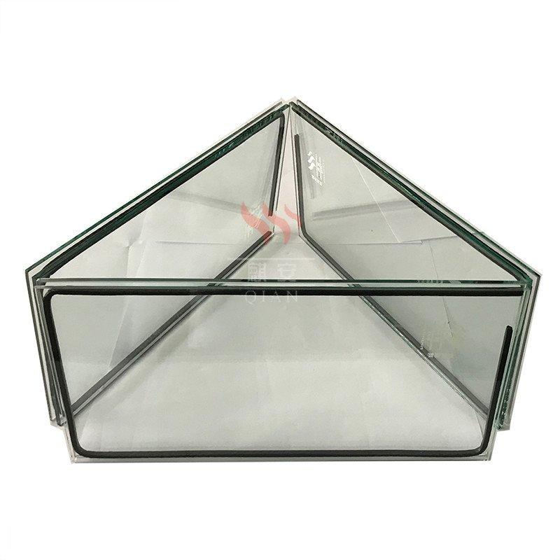 2 hour standard tempered heat resistant fire rated glass