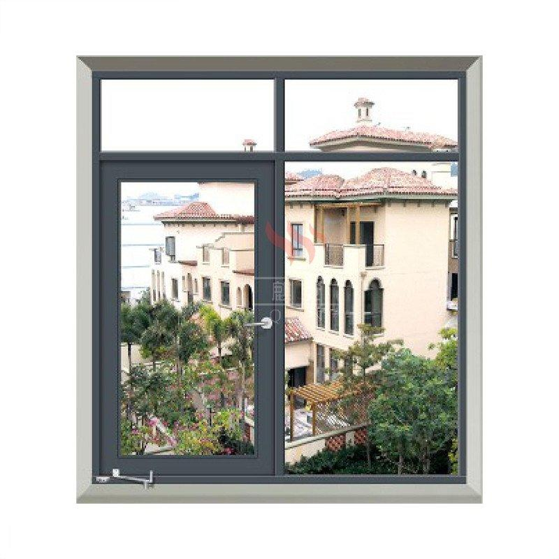 Galvanized steel  window 1 hour fire rated windows