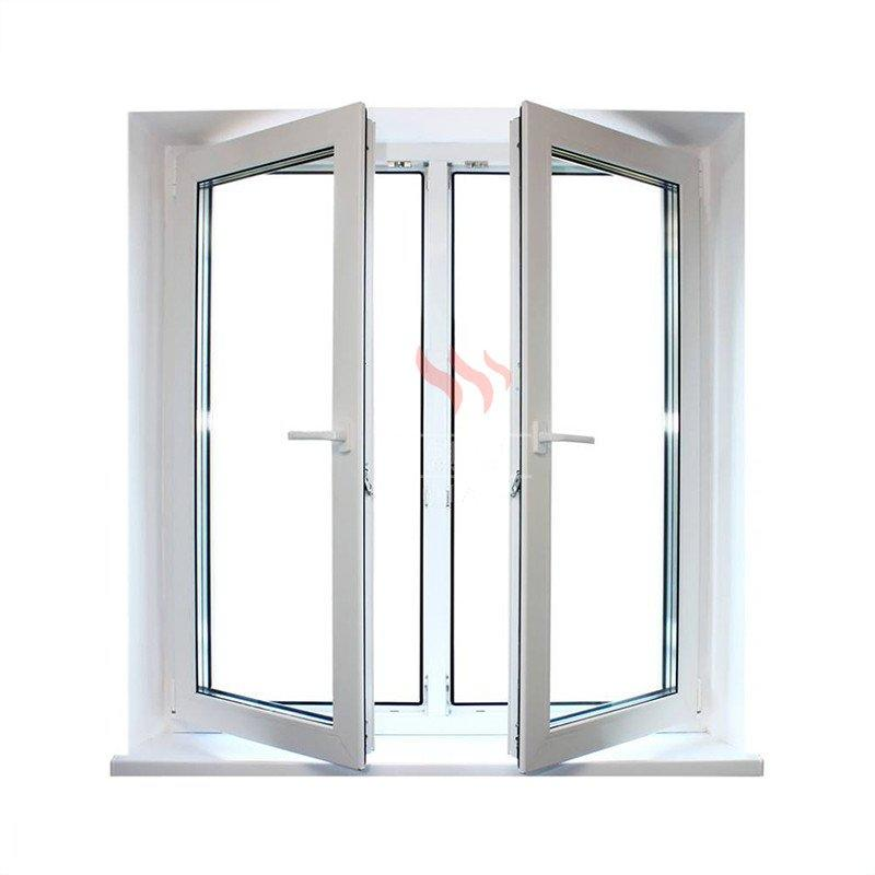 Galvanize inflaming retarding window steel fire protection windows
