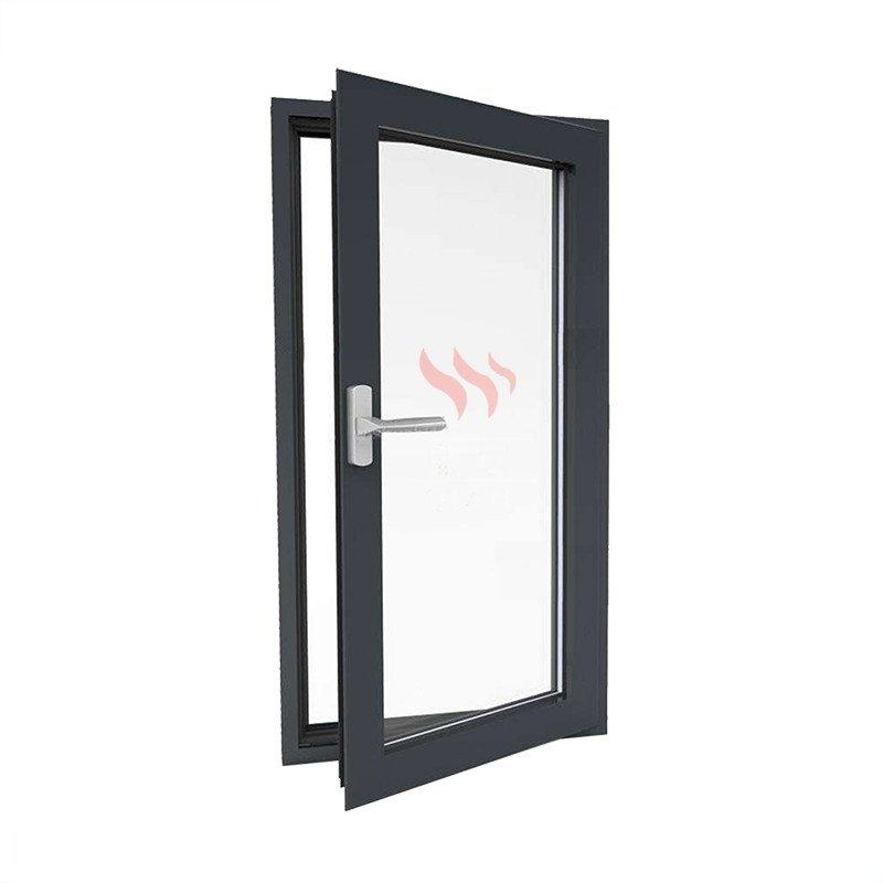 90 Minutes Fire Rated Steel Window with BS Certificate