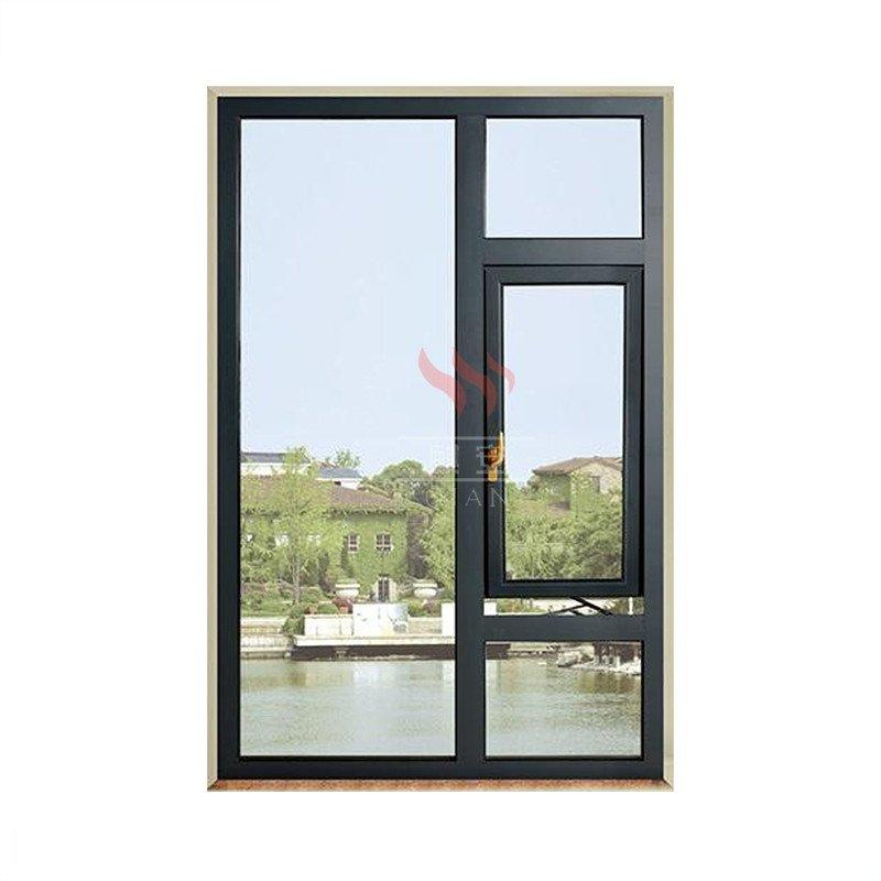120 Minutes Rating Time Galvanized Steel Sound Proof Heat Insulation Fire Rated Window with BS Certificate