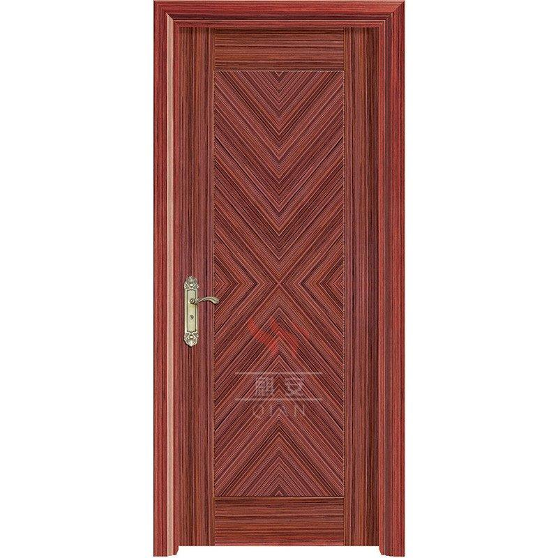 Commercial 60 minutes fire resistant wood door for apartment