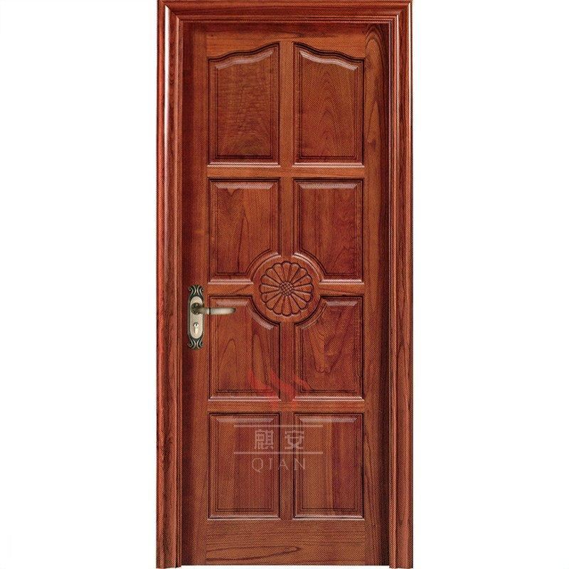 Interior entrance teak wood doors carving solid teak wood main door