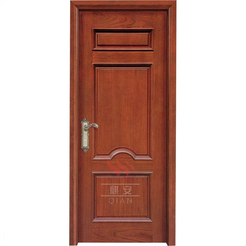 Villa wood solid wooden door fancy door solid wood panel bedroom door design