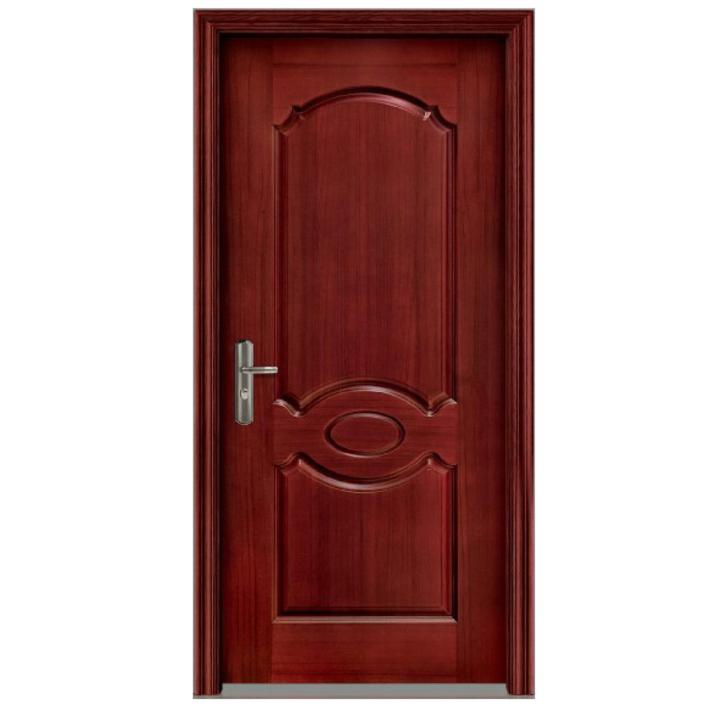 Qian-Professional 60 Minutes Fire Resistant Wood Door For Apartment Supplier-7