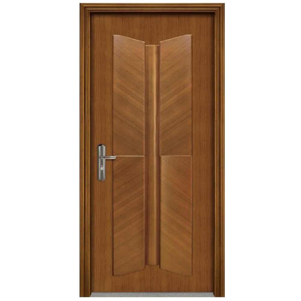 Qian-Professional 60 Minutes Fire Resistant Wood Door For Apartment Supplier-9