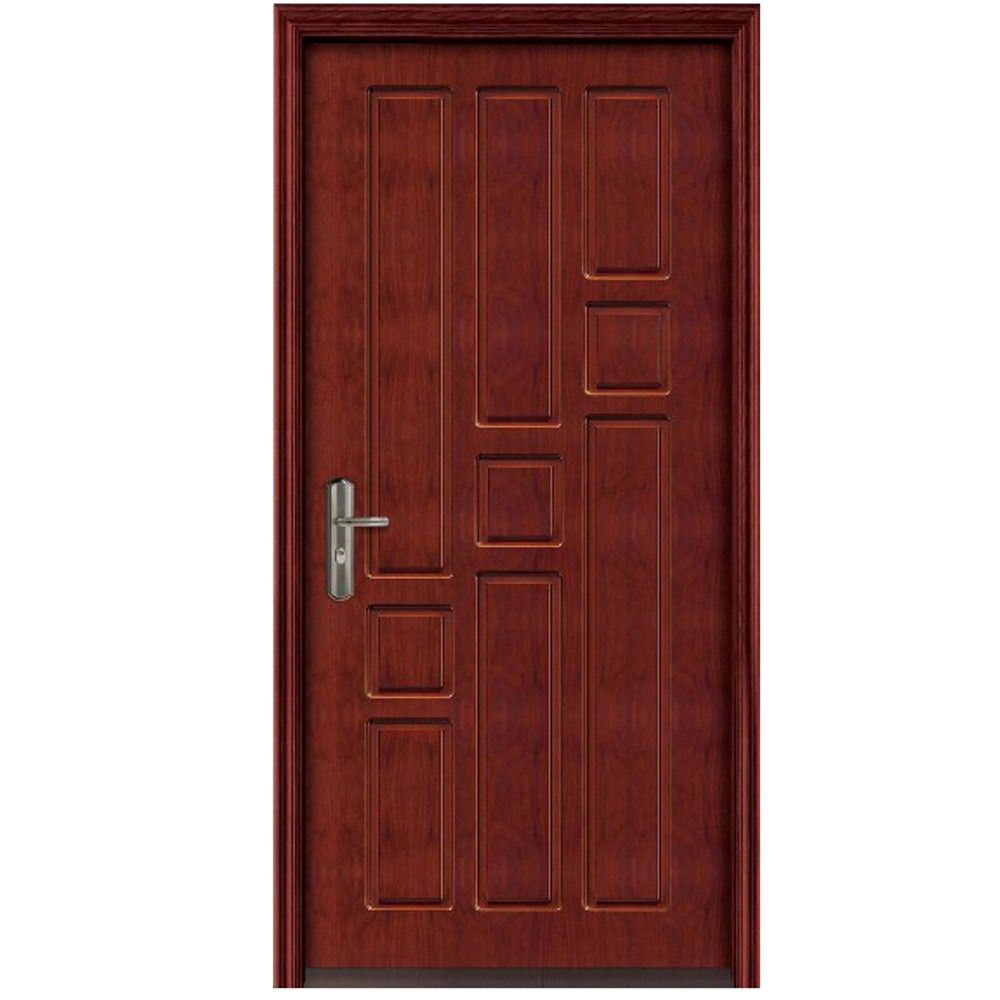 Qian-Professional 60 Minutes Fire Resistant Wood Door For Apartment Supplier-10