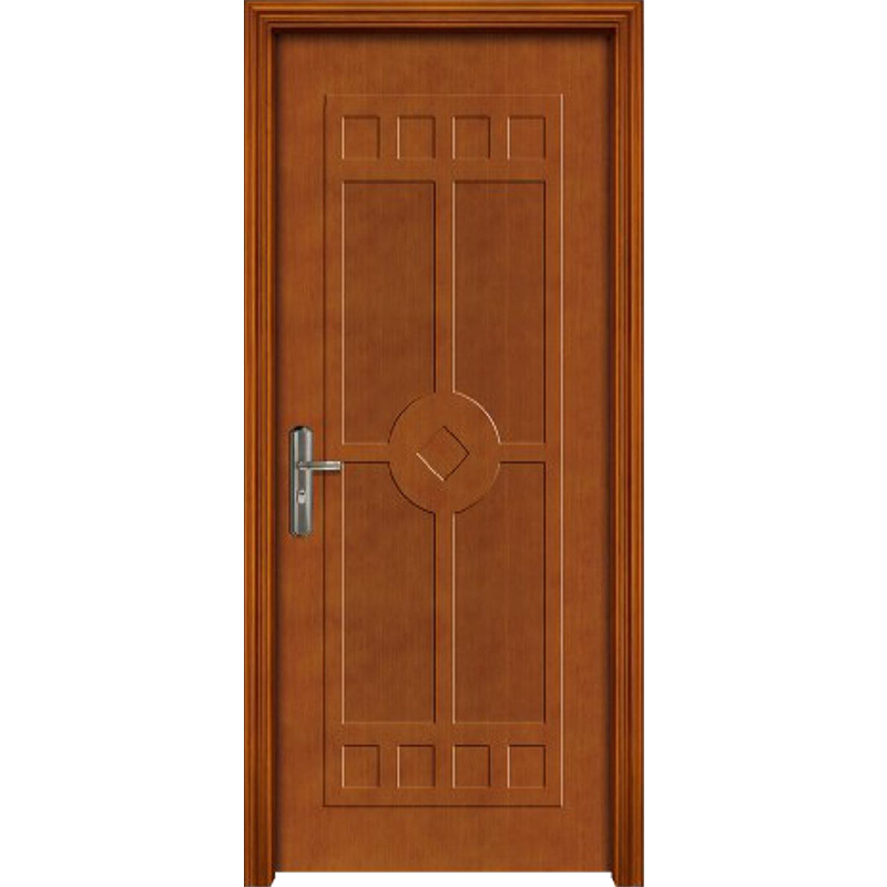 Qian-Professional 60 Minutes Fire Resistant Wood Door For Apartment Supplier-11
