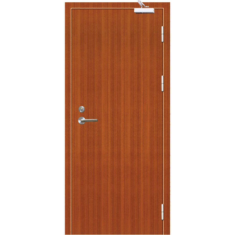 Qian-Professional 60 Minutes Fire Resistant Wood Door For Apartment Supplier-12