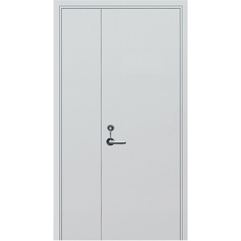 Qian-High Quality 2 Hour Fire Rated Vision Panel Galvanized Steel Fire Exit-7