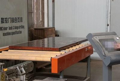 Qian-Custom Interior Solid Wood Fire Rated Timber Fireproof Wood Doors Modern-19