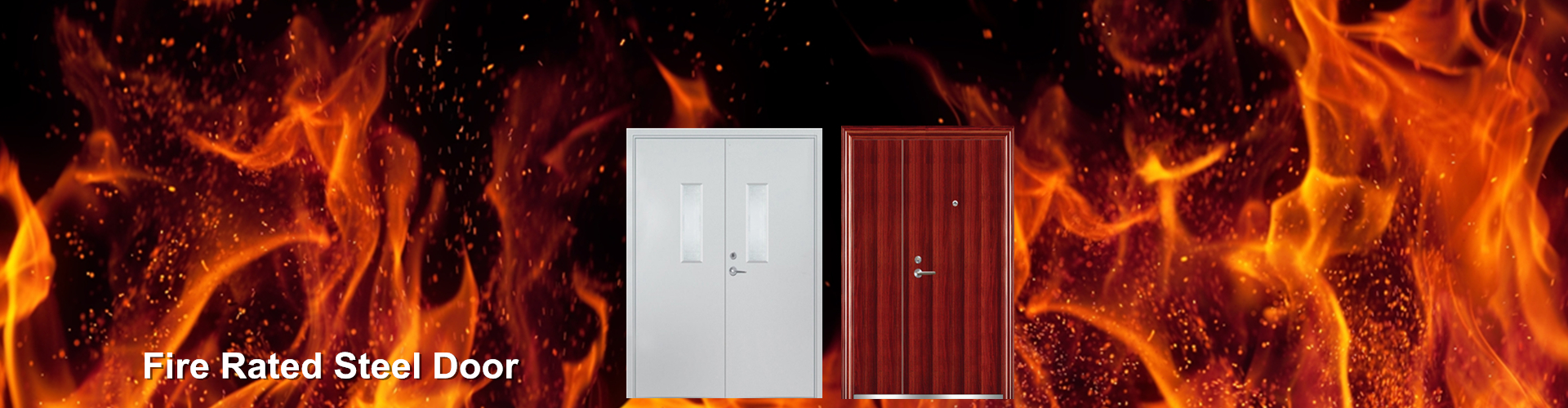 fire rated steel doors-Qi'an
