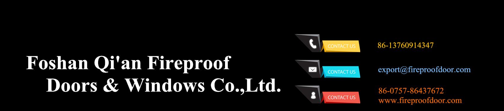 fire rated doors, fire rated windows, fire doors manufacturer-Qi'an