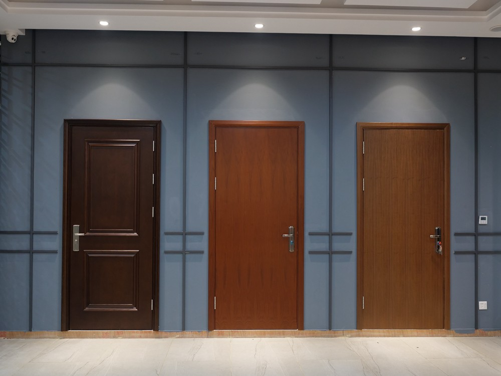 Qian-Professional 60 Minutes Fire Resistant Wood Door For Apartment Supplier-5