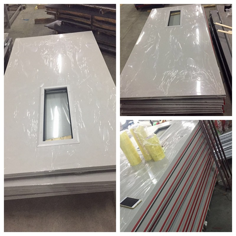 Qian-Cheap 50 Off 60mins Fire Rated Steel Door With Glass   News